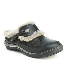 Another great find on #zulily! Black Iceland Clog #zulilyfinds