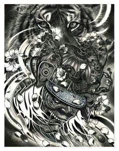 Samurai & tiger