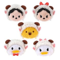 Disney celebrates year of the sheep with Tsum Tsum plushes