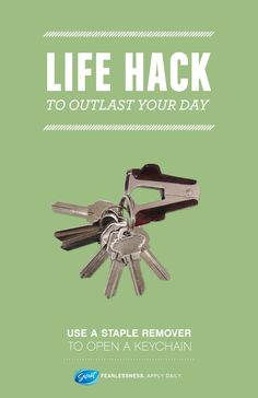 #LifeHack #HowTo #Keys