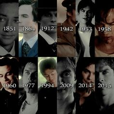 Ian Somerhalder as Damon Salvatore ❤ ❤ ❤ Can we just take a minute to appreciate whoever did this!!