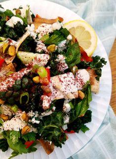 Lemon-Tahini Kale Salad