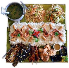 Top Ten Grazing Table to Groom Your Event Filipino Recipes, Asian Recipes, Ethnic Recipes, Filipino Food, Filipino Culture, Tapas Recipes, Cooking Recipes, Boodle Fight Party, Military Food