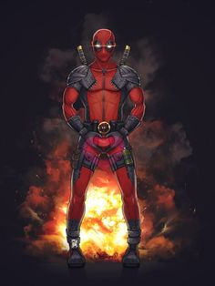 Wow Deadpool... Like we didn't know your heart is down there already... -Will
