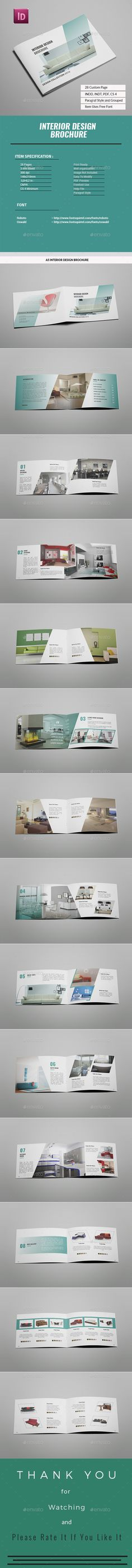TM Square Company Brochure 16 Pages Square company, Brochures - interior design brochure template