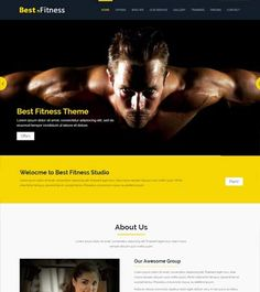 Fitness-Bootstrap-Website-Template