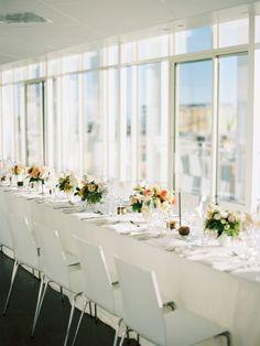 Photography: Ashley Kelemen - ashleykelemen.com/  Read More: http://www.stylemepretty.com/2015/03/13/modern-malibu-wedding-reception/