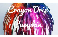 Crayon Drip Pumpkin Every time I walk through Target or Michaels I am totally inspired to do tons of fall crafts! I love crafting, especially when it comes to crafting with crayons. When I found a cute way to decorate pumpkins with them I totally flipped. Here is how to make these adorable fall decorations! What...  Read More at http://www.chelseacrockett.com/wp/diy-2/15078/.  Tags: #Crafts, #Crayon, #CrayonDripPumpkin, #Diy, #Fall, #FallCrafts, #Pumpkin, #Chelsea Crocke