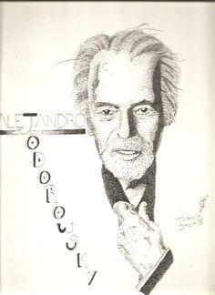 Alejandro Jodorowsky (ink draw)