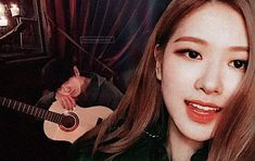 chanyeol and rose with guitar classic prom 🎸🎊 Thank you for original picture🙏 Kpop Couples, Ulzzang Couple, Cute Cats And Dogs, Exo Chanyeol, Jenni, Bias Wrecker, Kai, Idol, Lisa