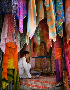 Fabric for Sale , India  What a beautiful image to co-opt for wedding space.
