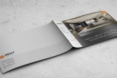 Real Estate A4 Indesign Catalog 0044 by annozio on @creativemarket