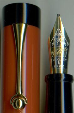 Bexley Simplicity II Classic Orange Fountain Pen
