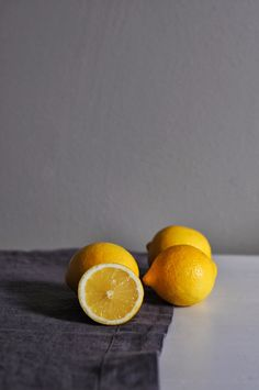 Still life Lemons by Dawn Mead