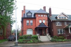 These are some pictures of Detroit houses I took a few years ago. Detroit has a rich history of architectural masterpieces that you don't find in homes of today. Detroit Houses, Victorian Houses, Old Houses, Brick, The Incredibles, Cabin, Homes, Mansions, Architecture