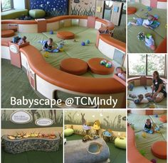 The Childrens Museum of Indianapolis Brand New Playscape and babyscape! Toddler Indoor Playground, Toddler Play Area, Kids Indoor Play, Soft Play Area, Indoor Play Areas, Toddler Bed, Playground Ideas, Playroom Design, Kid Playroom