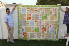 Last fall I was asked by Blend Fabrics to create a quilt for their booth at Fall Market using the Blooma collection by Jessica Swift. I never shared the full quilt because at Market the quilt was picked up by McCall's Quilting Magazine to appear in an future issue! I was so excited! And that issue has just been released: this quilt and accompanying pattern are featured in the McCall's Quilting May/June 2013 issue which is on news stands now. Here is the quilt in full. It's called Boho Girl…