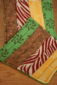 Hot Pads and other ideas for fat quarters