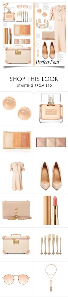 """""""Peach Lipstick"""" by valerie-42 ❤ liked on Polyvore featuring beauty, Givenchy, Hourglass Cosmetics, Chloé, Maison Margiela, Yves Saint Laurent, Axiology, Globe-Trotter, Kendra Scott and Ellis Faas"""