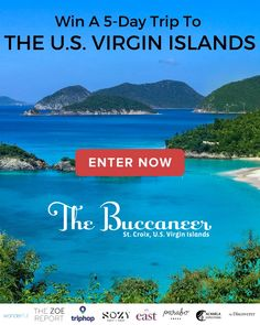 I wanna stay here. Beautiful place and I miss the summer! Vacation Destinations, Dream Vacations, Oh The Places You'll Go, Places To Visit, Toasters, Win A Trip, Look Here, Enter To Win, Virgin Islands