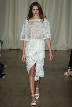 Spring 2015 Ready-to-Wear - Marchesa