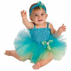 Baby Blue & Green Tutu Costume