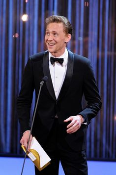 Tom Hiddleston at the Olivier Awards. Via torrilla.tumblr..com