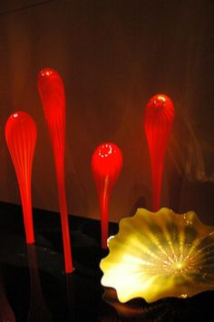 More blown glass pictures by Patricia Emfinger.