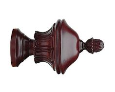 """Select Roman Finial For 1 3/8"""" Wood Drapery Rods"""