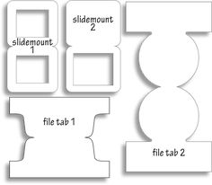 dinglefoot 39 s scrapbooking folder tabs template hot off the press http www. Black Bedroom Furniture Sets. Home Design Ideas