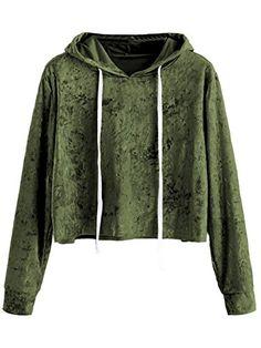 LoveSky Womens Mid Length Crew Neck Pullover Blazer Pockets Sweatshirts