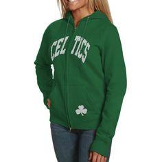 '47 Brand Boston Celtics Pep Rally Full-Zip Hoodie - Kelly Green @Fanatics #FanaticsWishList