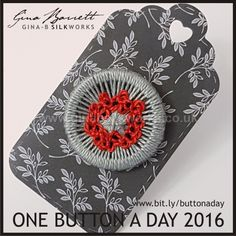 Day 318: Remembrance #onebuttonaday by Gina Barrett