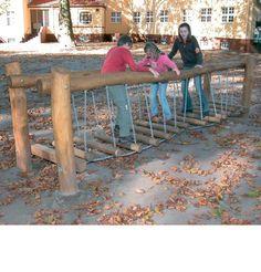 Ketting-wiebelbrug 4 m - 906191050R - Klik voor een grotere foto