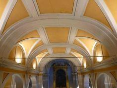 Nuestras entradas favoritas de 2014. Una selección muy personal.  La Iglesia de San Pedro ad Víncula en Vallecas:  Vista de la nave central desde el coro de la Iglesia. Foto: José Santos Torres