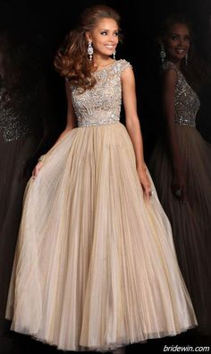 Love this. Just wish it were more ball gown