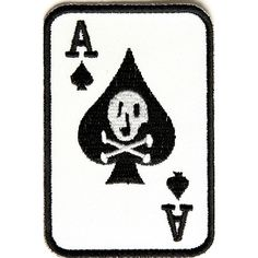 Shop Skull Patches this Skull Ace Of Spades Patch is Small and Rectangular. We have skull patches you sew on leather vests for bikers or iron denim clothes. Biker Patches, Skull Patches, Sew On Patches, Iron On Patches, Etch A Sketch, Ace Of Spades, Canned Heat, Iron On Embroidered Patches, Miss World