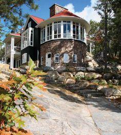 Canadian Home on Lake Rosseau 1