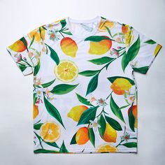 ce9d05b0e15 Fruit Tee Shirt 3d Shirt Unisex Graphic T-Shirt Lemon T Shirt Tumblr Full  Printed