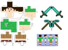 minecraft print | Resources & Stock Images / Designs & Patterns / Papercraft / Other