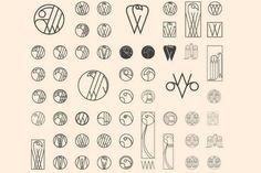 Retour aux arts déco pour l'identité de William & Son / Logo . Identité . Uk / étapes: design & culture visuelle