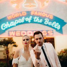 Las Vegas Wedding, Chapel of the Bells, Wedding Chapel, Traveling Makeup Artist. www.lisungoh.com Cowgirl Wedding, Quirky Wedding, Glamorous Wedding, Wedding Rustic, Funny Wedding Photos, Wedding Pics, Wedding Ideas, Dream Wedding, Chapel Of The Bells