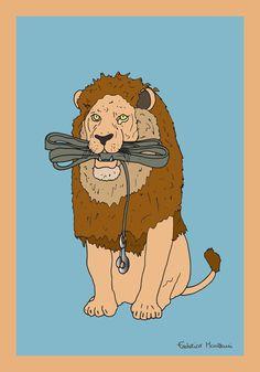 Pet Lion by Federico Monzani