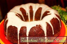 Zucchini Walnut Cake http://www.momspantrykitchen.com/zucchini-walnut-cake.html