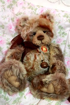 Charlie Bears TROUBLE MINIMO BNWT