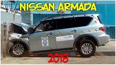 Фронтальный краш тест Nissan Armada 2018