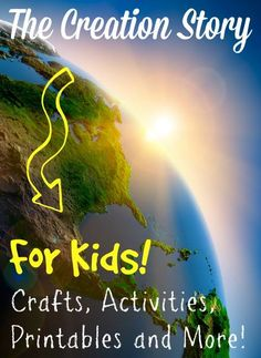 Bible Fun For Kids: The Creation For Kids: Day 2