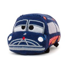 Doc Hudson has had a cute Tsum Tsum makeover with this mini Cars 3 soft toy! Made from soft plush fabric, Doc features a detailed embroidered expression and 'Fabulous Hudson Hornet' paintwork.