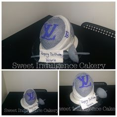 Fencing mask and épée sword Olympic Fencing, Fencing Mask, Victoria Cakes, Party Central, Pretty Cakes, Cake Cookies, Fence, Children, Kids