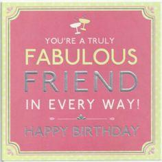 Happy Birthday Fabulous